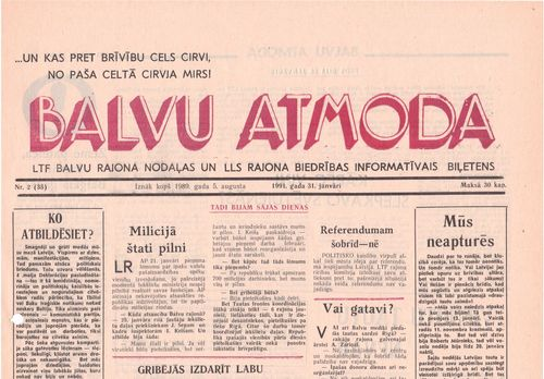 Balvu Atmoda-1991.janvāris1
