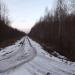 Bijušais Abrenes dzelzceļš 31. decembrī