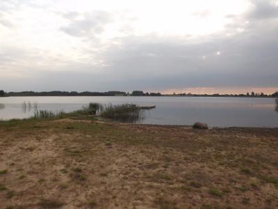 Viļakas ezers 1. septembra rītā