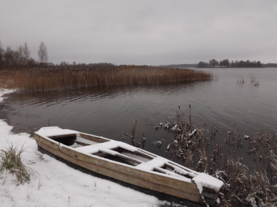 Laiva ezeriņā