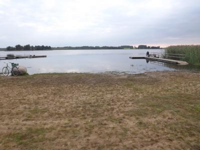 Viļakas ezeriņš 1. septembra rītā