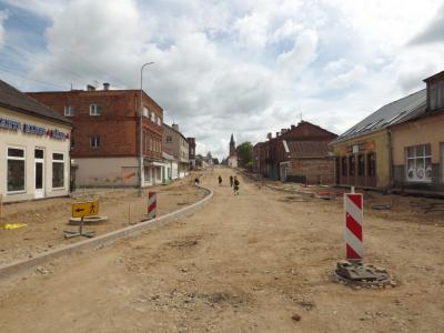 Latgales iela Rēzeknē 7. jūlijā
