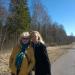 Marija un Karīna uz Abrenes ceļa