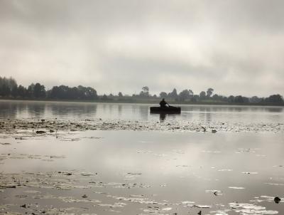 Rāmajos ezera ūdeņos