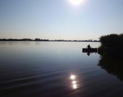 31. jūlija rīts pie ezera