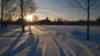 27. janvāra vakara saulē