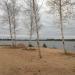 Pie ezera 18. oktobrī