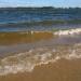 Viļņi ezerā 18. septembrī